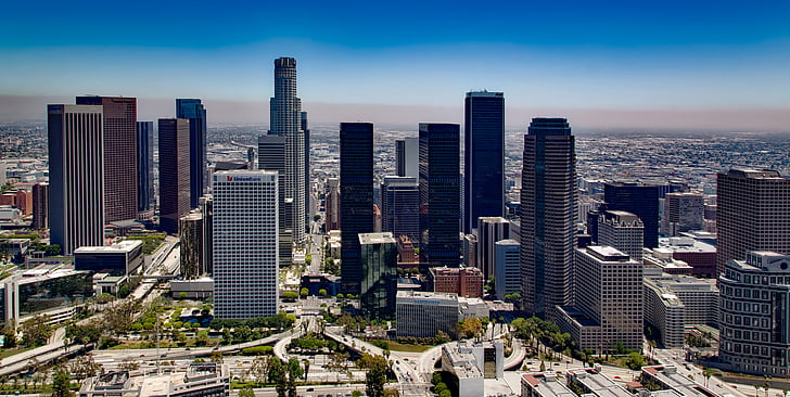 Downtown Los Angeles highrises
